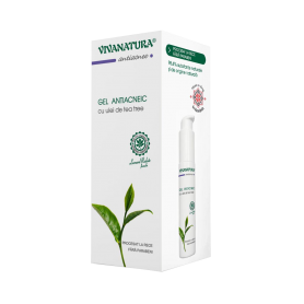Gel antiacneic 50ml Vivanatura