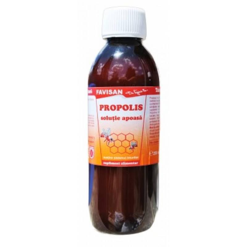 Propolis solutie apoasa 250ml - FAVISAN