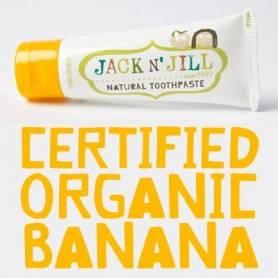 Pasta de dinti naturala copii banana - Jack N Jill
