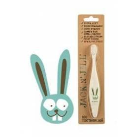 Periuta de dinti bio pentru copii - Bunny - Jack N'Jill