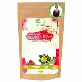 Rhodiola rosea pulbere raw eco-bio 125g OBio