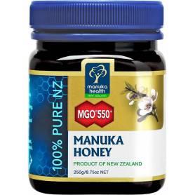 Miere MANUKA - MGO 550 - UMF 25+ - 250g - Manuka Health NZ
