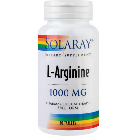 L-arginina 1000mg 30tb - SOLARAY - SECOM