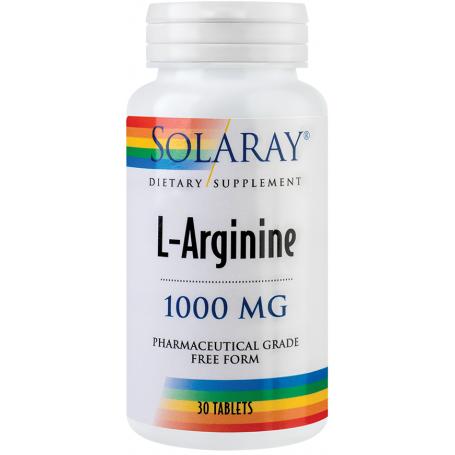 L-arginina 1000mg 30tb - SOLARAY - SECOM