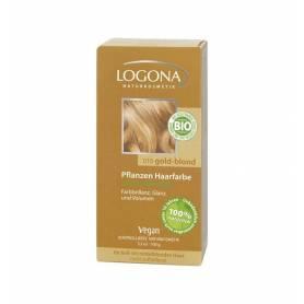 Vopsea de par 100% naturala - Blond auriu 100g - Logona