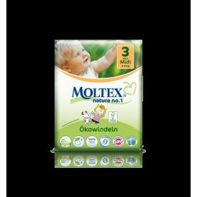 Scutece ECO bebelusi (4-9kg), nr. 3, 34buc - Moltex