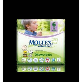 Scutece ECO XL pentru copii (16-30kg), nr. 6, pachet 22buc - Moltex