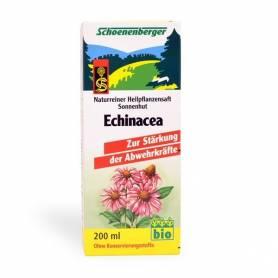 Suc bio de Echinacea 200ml SCHOENENBERGER