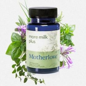 MORE MILK PLUS 120cps - MOTHERLOVE