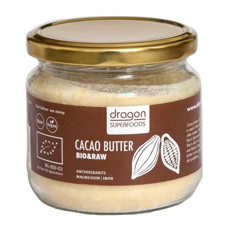 Unt de cacao bio 300ml - Dragon Superfoods