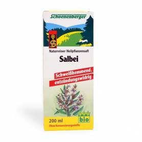 Suc bio de SALVIE 200ml SCHOENENBERGER