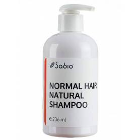 Sampon natural lichid pentru par normal – 236ml - Sabio