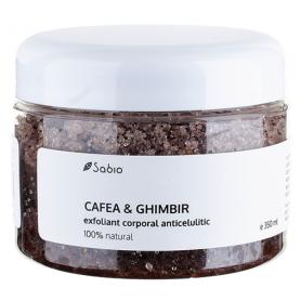 Exfoliant anticelulitic – Cafea si Ghimbir – 350ml - Sabio