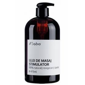 Ulei de masaj stimulator – 475ml - Sabio