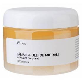 Exfoliant cu Lamaie si Ulei de migdale – 350ml - Sabio