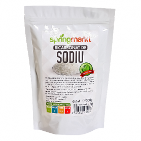 Bicarbonat de sodiu 500g - SpringMarkt - Adams