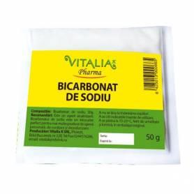 Bicarbonat de sodiu 50g - Vitalia