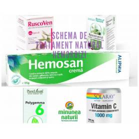 Schema de tratament natural ANTI-HEMOROIZI