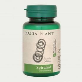 Spirulina 500mg 60cp - Dacia Plant