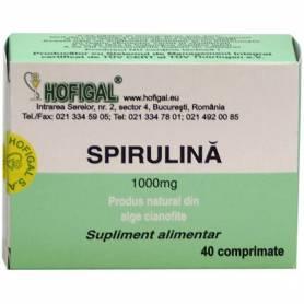 Spirulina 1000mg 40cps - Hofigal