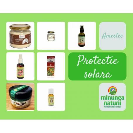 Amestec protectie solara naturala - Pachet uleiuri de preparat acasa
