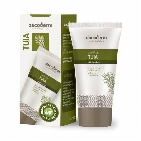 Crema de Tuia 75ml - Dacoderm - Dacia Plant