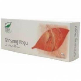 Ginseng Rosu 200mg 30cps Medica
