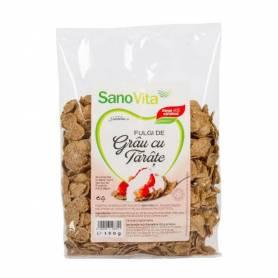Fulgi de grau cu tarate 150g - SANOVITA