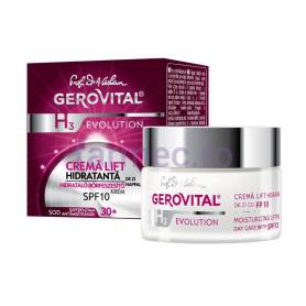 H3 Evolution Crema hidratanta de zi cu SPF 10 - 50ml - Gerovital