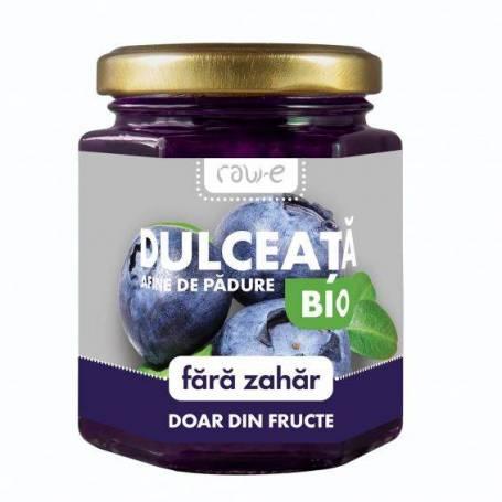 Dulceata de afine de padure fara zahar -bio-  200g - Phenalex