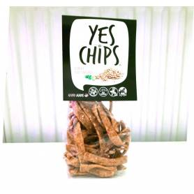 Chips vegan de linte cu susan 80g - Yes Chips