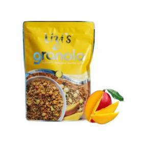 Musli Granola cu mango si nuci de macadamia 400g - Lizi´s Granola