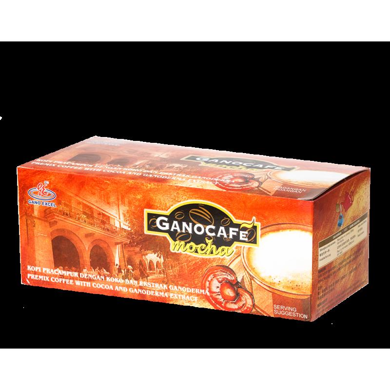 GanoCafe Mocha  - cafea mocha cu ganoderma - 15pl/cutie - GANO EXCEL