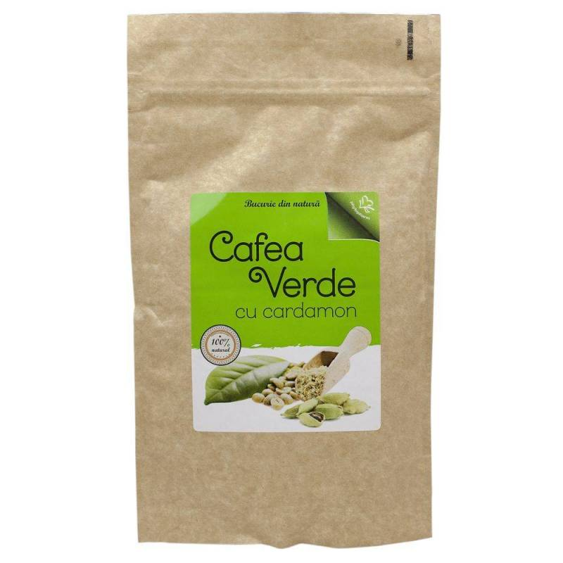 Cafea Verde cu cardamom 150g - Phytopharm