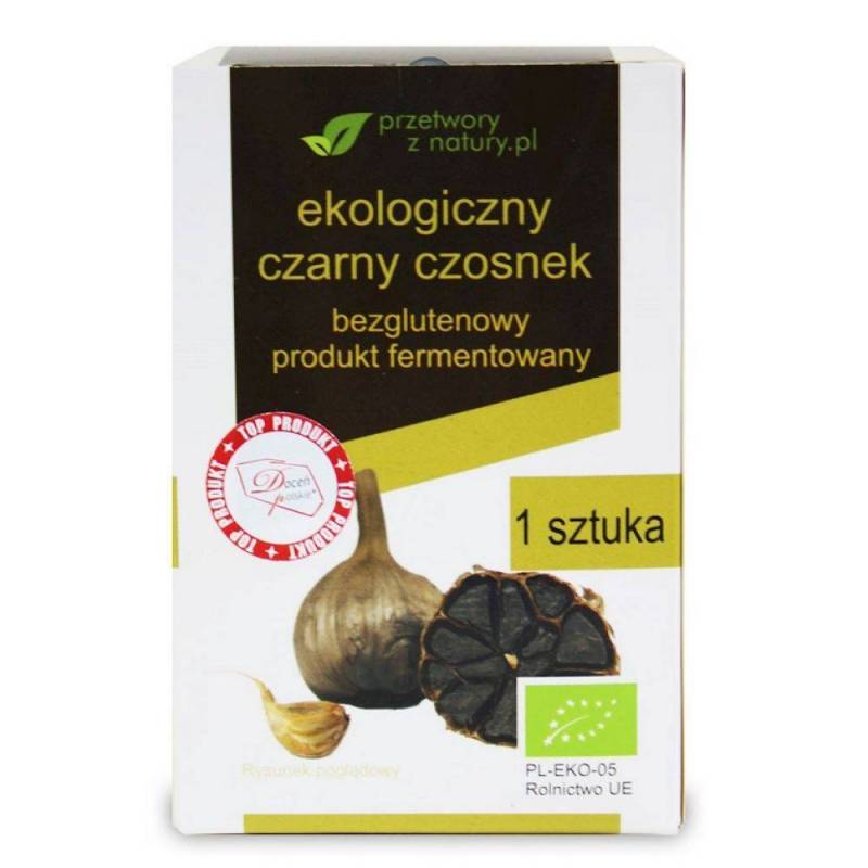 Usturoi negru fermentat - eco - BioBoom Organic