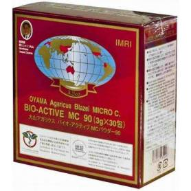 Bio Active MC - Agaricus Blazei Muril - Extract din Ciuperca lui Dumnezeu - antitumoral - 30pl