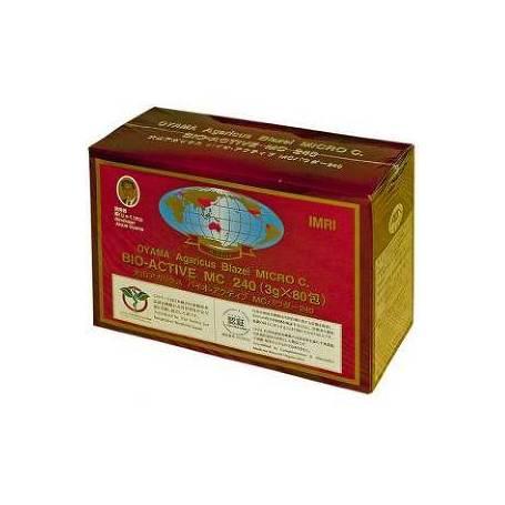 Bio Active MC - Agaricus Blazei Muril - Extract din Ciuperca lui Dumnezeu - antitumoral - 80pl