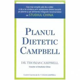 Planul dietetic Canpbell - carte - Thomas Campbell