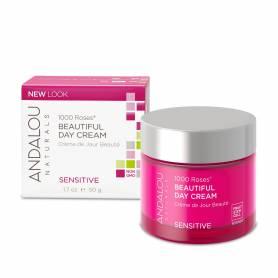 1000 Roses Beautiful Day Cream - Crema de zi hidratanta pentru ten sensibil - 50g - SECOM