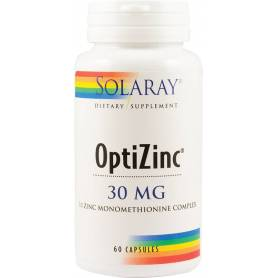 OPTIZINC 30mg 60cps veg - SOLARAY - SECOM