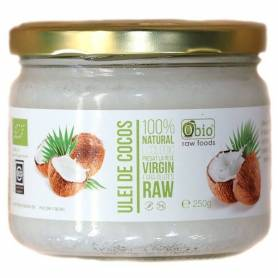 Ulei de cocos extra virgin 250g - ECO-BIO - OBIO