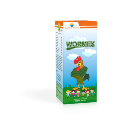 Wormex Sirop 200ml - SUN WAVE PHARMA