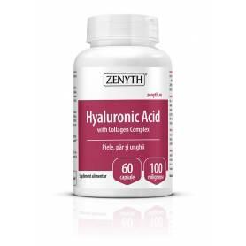 Complex de acid hyaluronic si colagen 700mg - 60cps - Zenyth