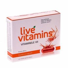 Vitamine vii - Live Vitamins - 30cps - Vitaslim