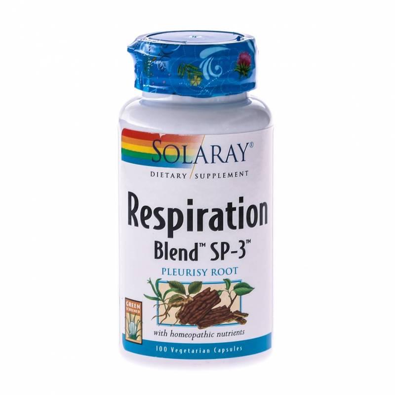 Respiration Blend - 100cps - Solaray - Secom