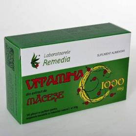 Vitamina C Macese 1000mg - 10pl - REMEDIA