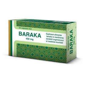 Baraka 450mg adulti - 24 capsule moi - Pharco