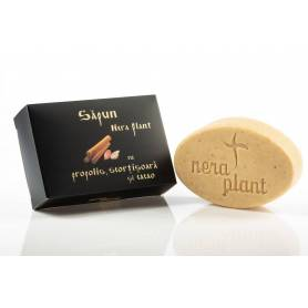 Sapun natural cu propolis, scortisoara si cacao 110g  - Nera Plant