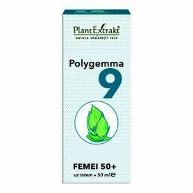 Polygemma 9 - Femei 50 plus 50ml Plantextrakt