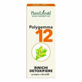 Polygemma 12 - Rinichi detoxifiere 50ml Plantextrakt